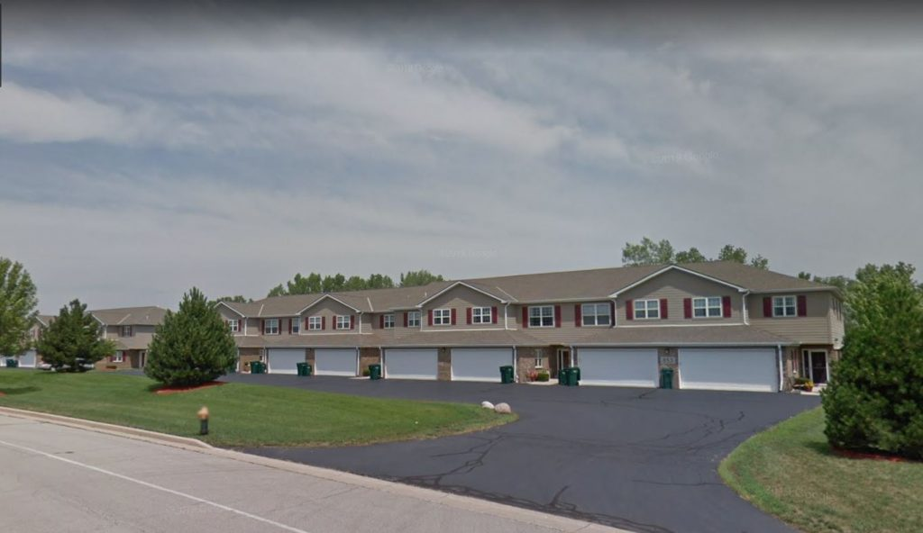 8-unit mixed-use residential building In Racine WI