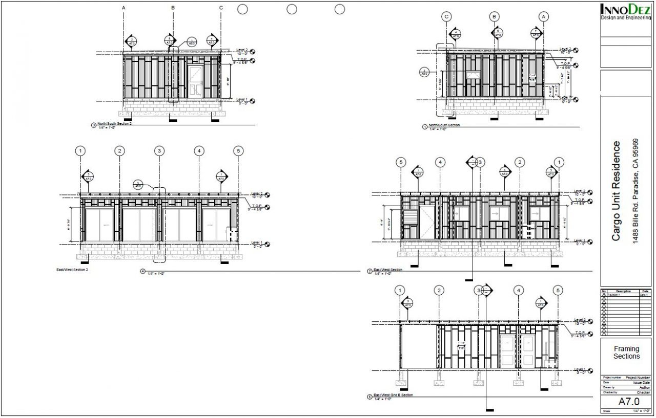 Framing Sections
