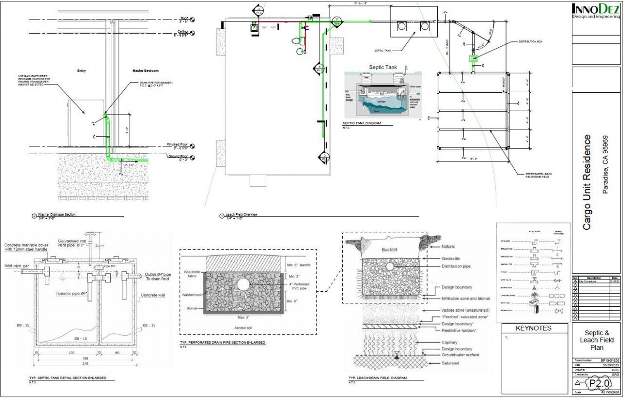 Septic Leach Field Plan