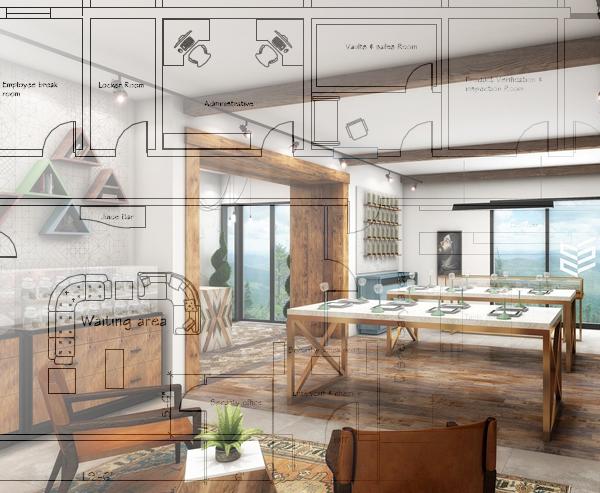Dispensary Floor Plan Design