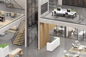Commercial Building - Office Spaces