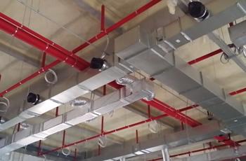 Commercial Fire Sprinkler System Design