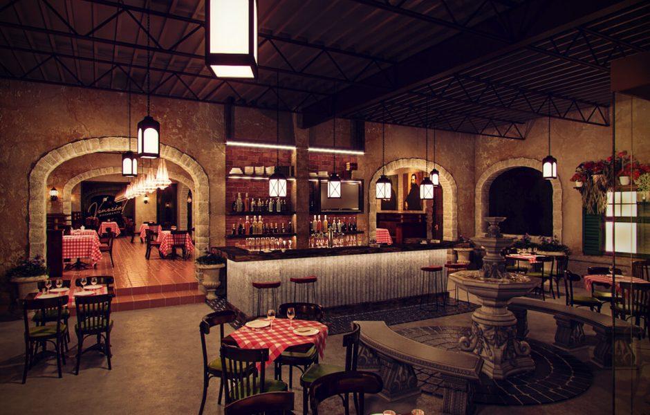 Venezia Italian Restaurant MEP Design