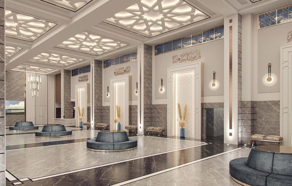 Memphis Masjid Architecture Interior Design
