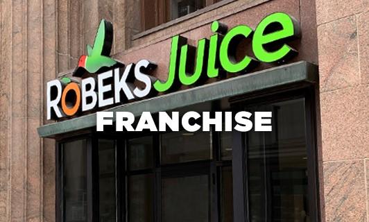 Robeks Juice Bar Franchise Design