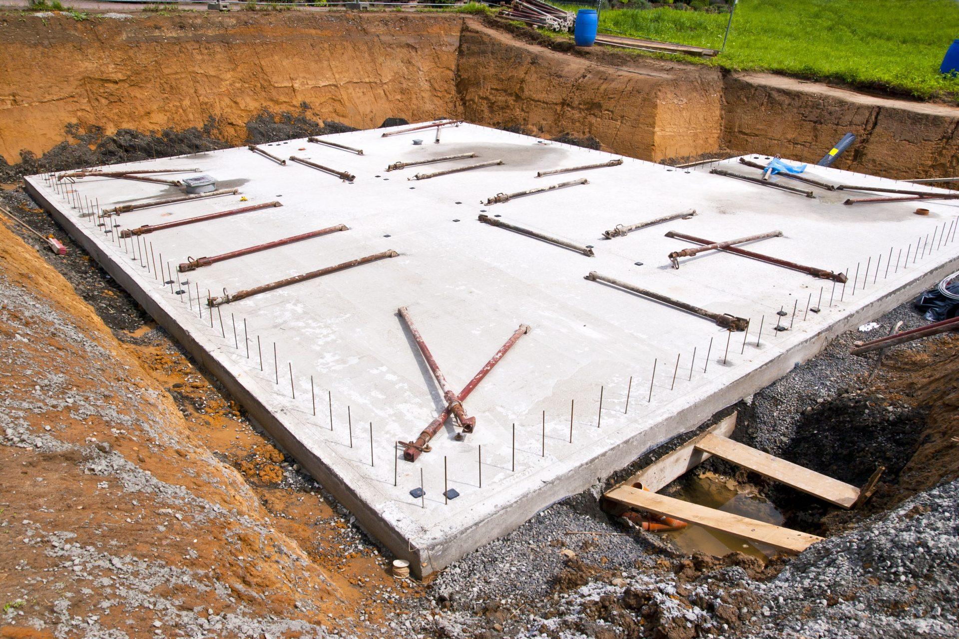 House Foundation-Storm Drain Plan