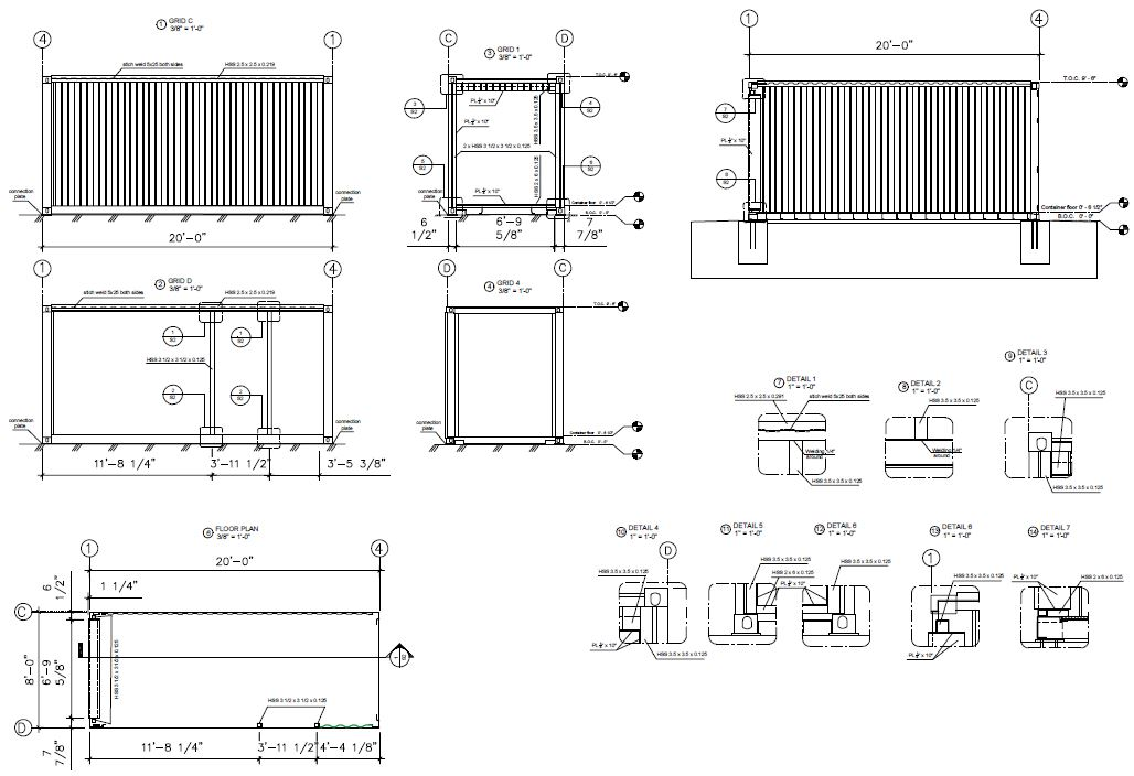 Container House Structural Engineering